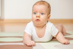 Cuatro meses del bebé Imagen de archivo