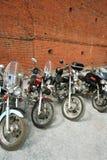 Cuatro motocicletas Imagen de archivo libre de regalías