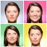 Cuatro mujeres imagen de archivo libre de regalías