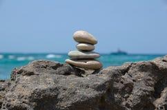 Cuatro piedras Foto de archivo libre de regalías