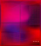 Cuatro porciones de fondo abstracto Foto de archivo libre de regalías