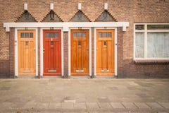 Cuatro puertas Imagen de archivo libre de regalías