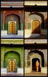 Cuatro puertas de las estaciones en Jaipur Foto de archivo libre de regalías