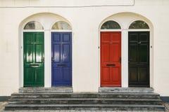 Cuatro puertas killkenny en Irlanda Foto de archivo libre de regalías
