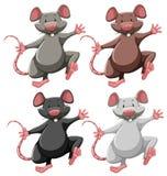 Cuatro ratones libre illustration