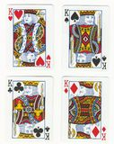 Cuatro reyes Fotos de archivo libres de regalías