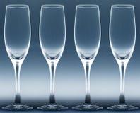 Cuatro tazas Imagen de archivo