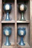 Cuatro tazas Foto de archivo libre de regalías