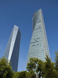 Cuatro Torres Business Area Royalty Free Stock Photography