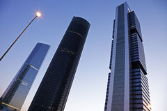 Cuatro Torres Business Area Royalty Free Stock Image