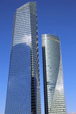 Cuatro Torres Business Area Stock Photo