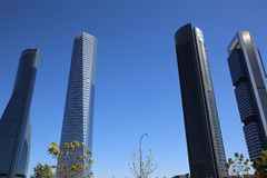 Cuatro Torres Business Area Stock Images