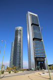 Cuatro Torres Business Area Royalty Free Stock Photos