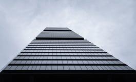 Cuatro Torres Business Area (CTBA) building skyscraper, in Madri stock photography