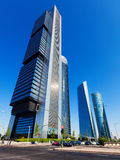 Cuatro Torres Business Area. Madrid, Spain Stock Photo