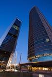 Cuatro Torres Business Area Stock Images
