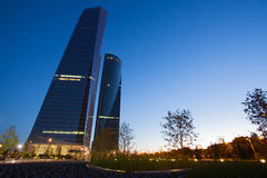 Cuatro Torres Business Area Stock Photography