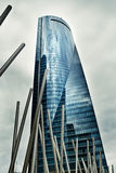 Cuatro Torres Business Area, madrid spain Royalty Free Stock Image