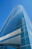 Cuatro torres financial center in Madrid on 4 May, 2013 Royalty Free Stock Image