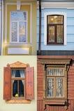 Cuatro ventanas Imagenes de archivo