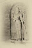 Cuatro Vishnu armado en Nathlaung Kyaung Fotos de archivo libres de regalías