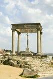 Cuatros Postes (Four Pillars or Posts), Avila Spain, an old Castilian Spanish village Stock Images