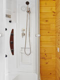 Cubículo de la ducha foto de archivo libre de regalías