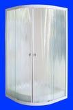 Cubículo de la ducha imagenes de archivo