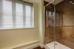 Cubículo de la ducha Fotografía de archivo libre de regalías