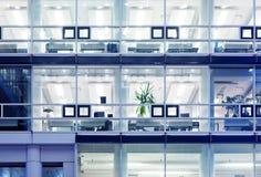 Cubículos de la oficina imagen de archivo