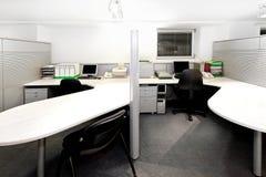 Cubículos de la oficina Foto de archivo libre de regalías