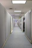 Cubículos en espacio de oficina Foto de archivo libre de regalías