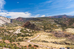 Cub Creek Road, Dinosaur National Monument. Cub Creek Road in Dinosaur National Monument, Utah Royalty Free Stock Photography