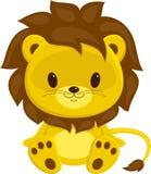 Cub di leone illustrazione vettoriale