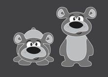 Cub di orso Teddy Bear animazione Illustrazione di vettore royalty illustrazione gratis