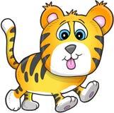 Cub di tigre sveglio Immagini Stock
