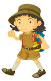 A cub scout Stock Image