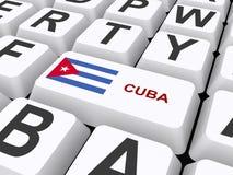 Cuba ilustração do vetor