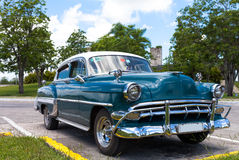 Cuba american classic car Stock Photo