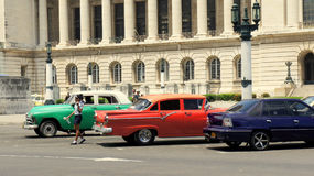 Cuba: Antiques on Wheels Royalty Free Stock Image