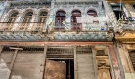 Cuba architecture Royalty Free Stock Photo