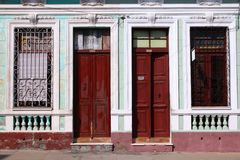 Cuba architecture Stock Photography