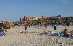 Cuba: Barcelo Hotel and beach in Varadero royalty free stock image