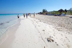 Cuba beach Royalty Free Stock Photos