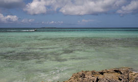Cuba boat Stock Photo