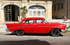 Cuba car royalty free stock image
