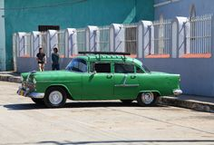 Cuba car Royalty Free Stock Images