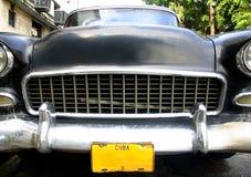 Cuba Car Bonnet Stock Image