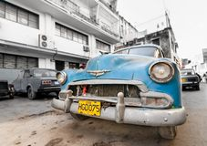 Cuba car DEZEMBER in Havanna, Cuba. caribbean car Stock Photo