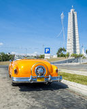 Cuba car. A typical car of cuba in a road of the city of Habana Royalty Free Stock Image